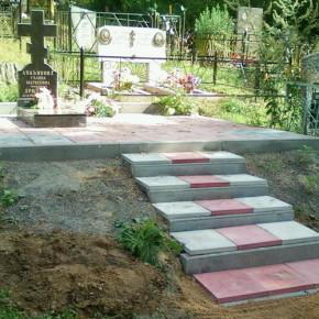 Комплексное благоустройство могил и захоронений